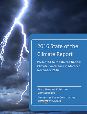 2016 State of the Climate Report