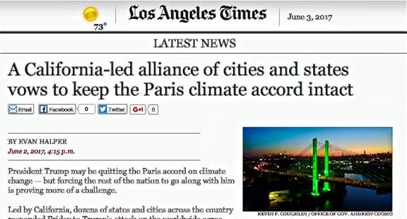 Exiting Paris agreement brings out emissions deception by mainstream media